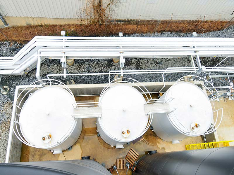 Photo of Terminal Piping and Tanks